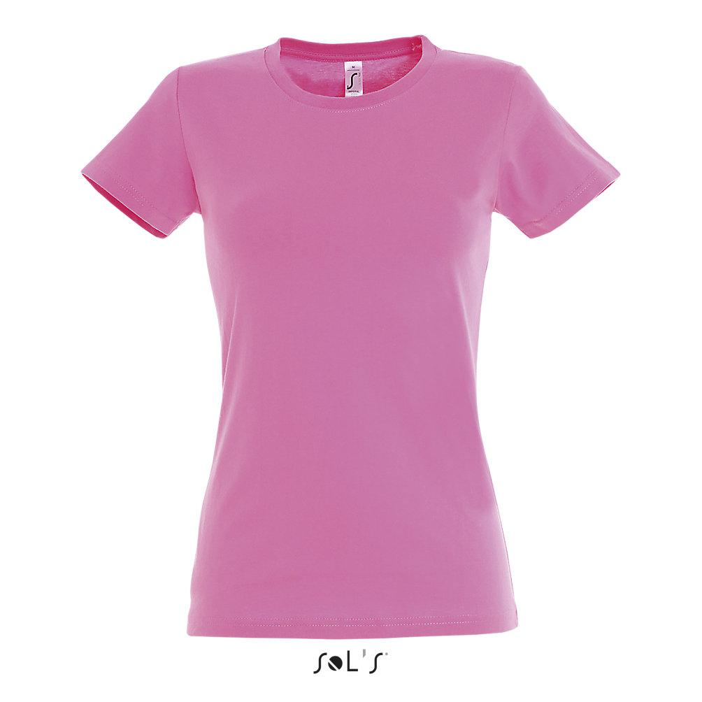 Футболка женская Sols Imperial L, розовая