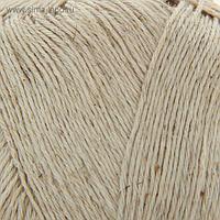 Нитки вязальные Кудельница 500м/100гр 60% хлопок, 40% лен цвет 3600