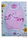 Лицевое махровое полотенце в подарочной коробке., фото 2
