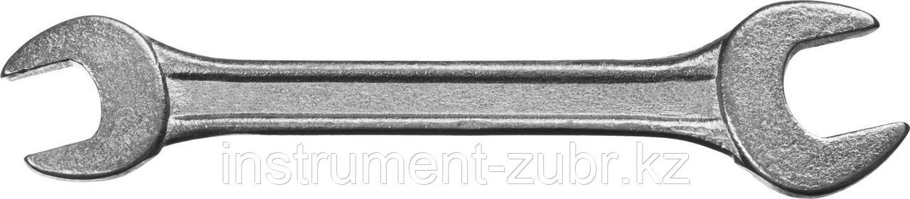 Рожковый гаечный ключ 8 x 10 мм, СИБИН