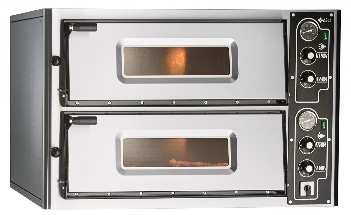 Печь электрическая для пиццы ПЭП-4х2 (двухярусная