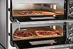 Печь электрическая для пиццы ПЭП-4х2 (двухярусная, фото 2