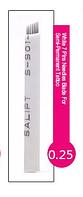 Иглы (7) для микроблейдинга, перманентного макияжа (татуажа) бровей