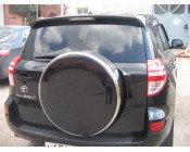 Бокс (чехол) запасного колеса из нержавеющей стали на Toyota RAV4 2010-2013
