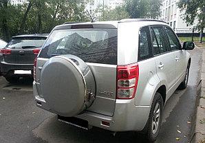 Бокс (чехол) запасного колеса из нержавеющей стали на Suzuki Grand Vitara 2005г-