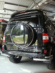 Бокс (чехол) запасного колеса из нержавеющей стали на УАЗ Патриот 2005-