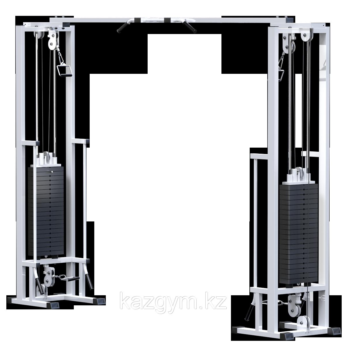Кроссовер на базе реабилитационной рамы (стек 2х100кг) (KAR082.2х100)