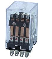 Реле промежуточное MY-4 РПЛ4-5А AC 220 V, 4 пары контактов 5А