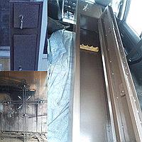 Продам сейф на 4 ружья , металл 3мм, высота 165*30*20, нижнее 135см, патронник 20см, Навесы внутренние 3 замка
