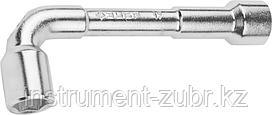 """Ключ торцовый ЗУБР """"МАСТЕР"""" двухсторонний L-образный, проходной, 17мм"""