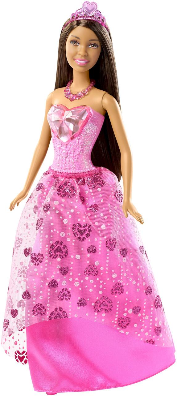 Barbie.Сказочный мир. Барби-принцесса Шатенка, Gem Fashion