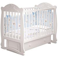 Детская кроватка Мишутка с ящиком