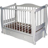 Детская кроватка Можгинский лесокомбинат Алиса с ящиком