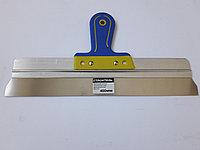 Шпатель 400 мм Строитель (двухкомпонентная ручка)