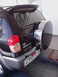 Бокс (чехол) запасного колеса из нержавеющей стали на Toyota RAV4 II 2000-2005