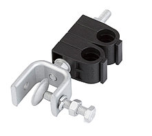 SHK-12-2-P Двойные крепления для кабеля 1/2