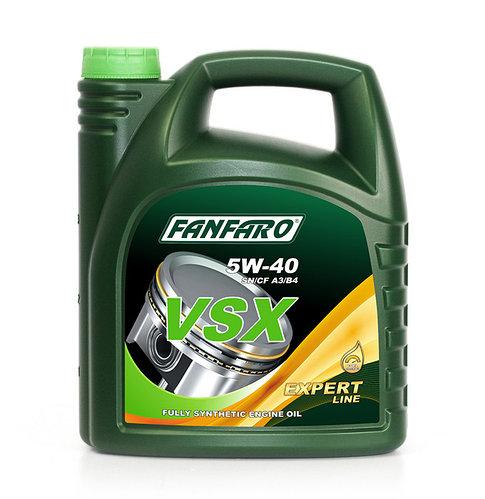 Моторное масло FANFARO VSX 5W40 SN/CF 4L