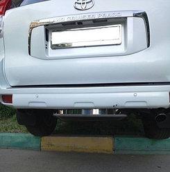 Бокс (чехол) запасного колеса из нержавеющей стали на Toyota Land Cruiser PRADO 150