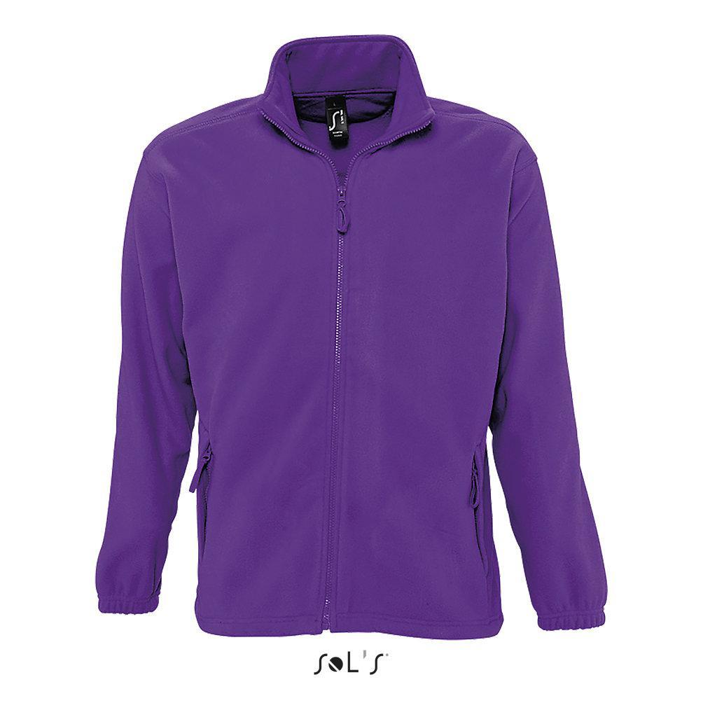 Флисовая Кофта Sols North M, фиолетовая