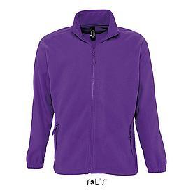 Флисовая Кофта Sols North XXL, фиолетовая
