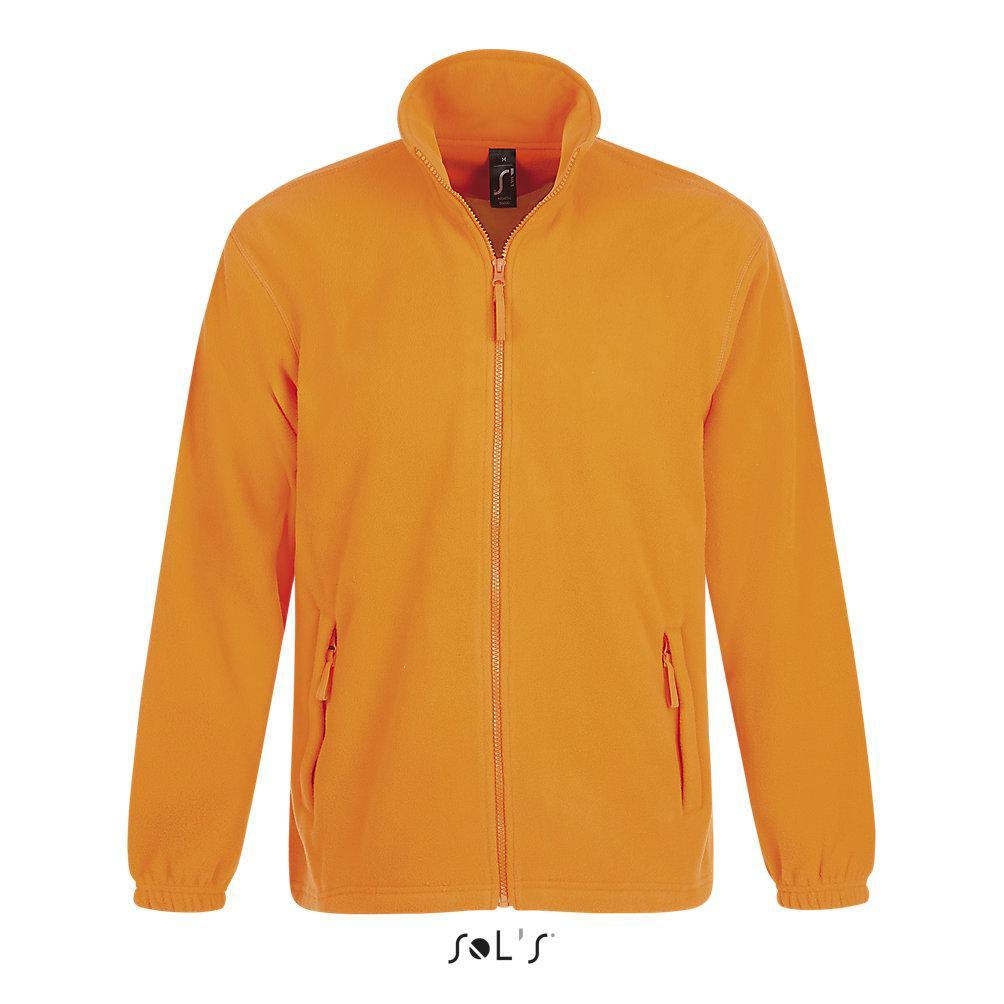 Флисовая Кофта Sols North L ,оранжевая