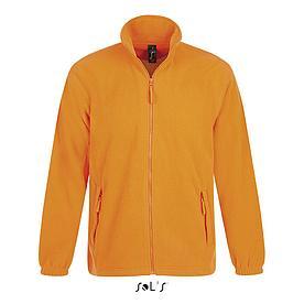 Флисовая Кофта Sols North XXL ,оранжевая