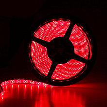 Светодиодная лента SMD 5050 IP65 12V 60д/м, красный, герметичная