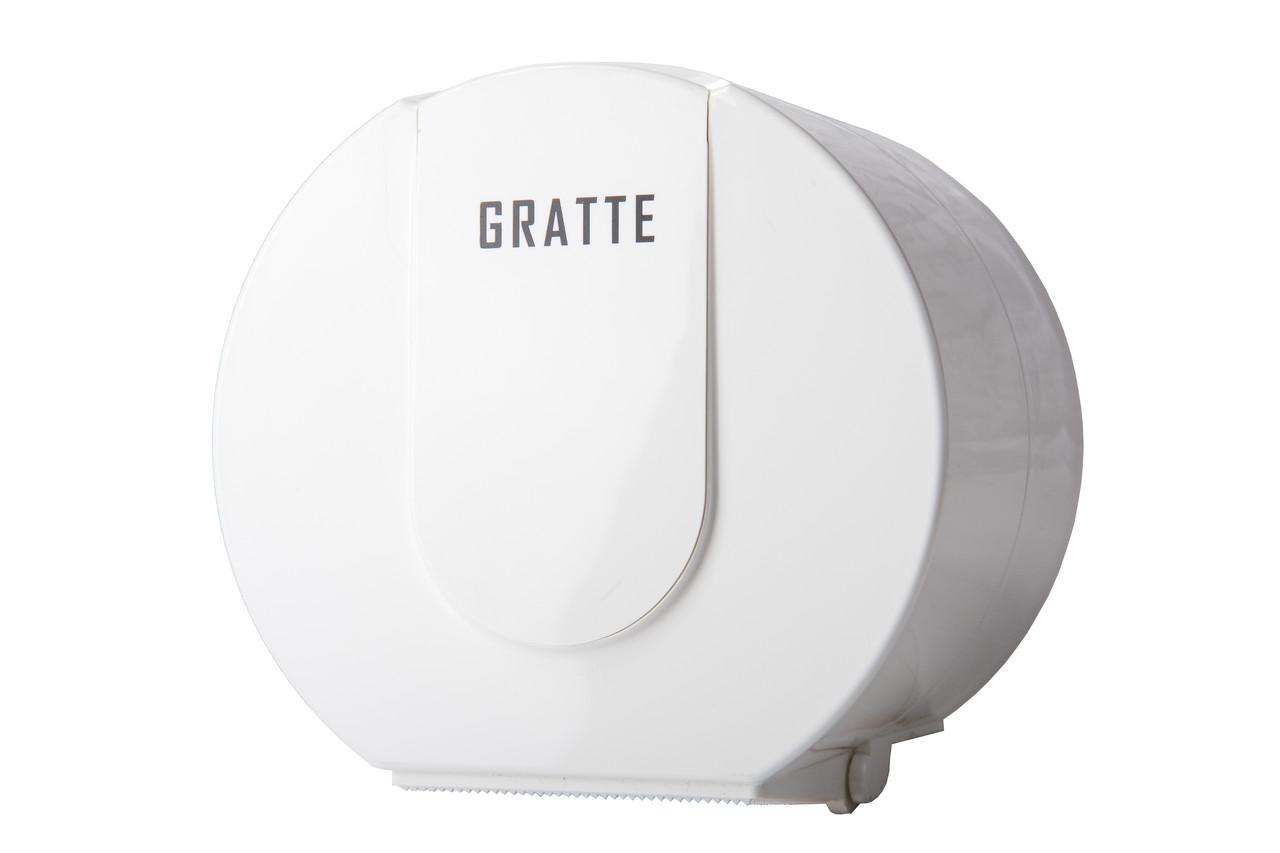 Диспенсер для туалетной бумаги GRATTE T-140 (W)
