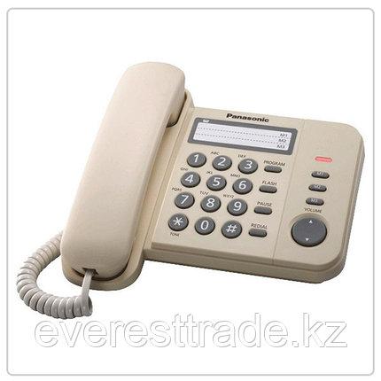 Телефон проводной Panasonic KX-TS2352 RUW, фото 2