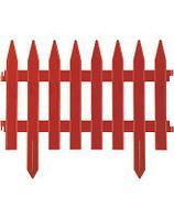 Забор декоративный терракот GRINDA, 28x300см, 422201-T