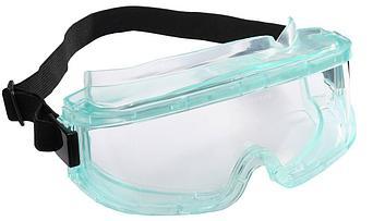 (2-110291) Очки STAYER защитн. панорамн. закрытого типа с непрямой вентил-ей, поликарб. прозр. линзы