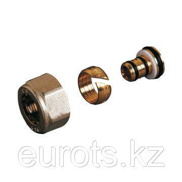 Фитинг компрессионный для труб из полиэтилена (PEX) M24x19 - 16x2.2мм