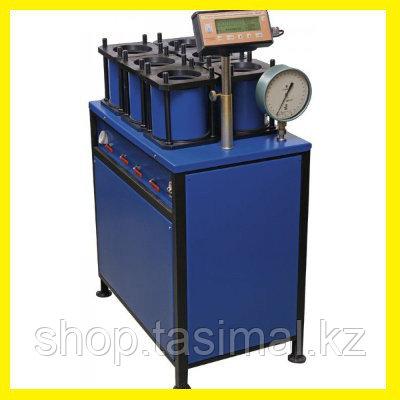 Установки УВБ-МГ4 и УВБ-МГ4.01для испытания бетонных образцов-цилиндров на водонепроницаемость