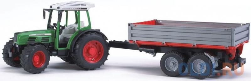 Брудер трактор Bruder Трактор Fendt 209 S с прицепом Bruder