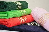 """Банное махровое полотенце """"Versace"""" в подарочной коробке. 140*70 см. , фото 5"""