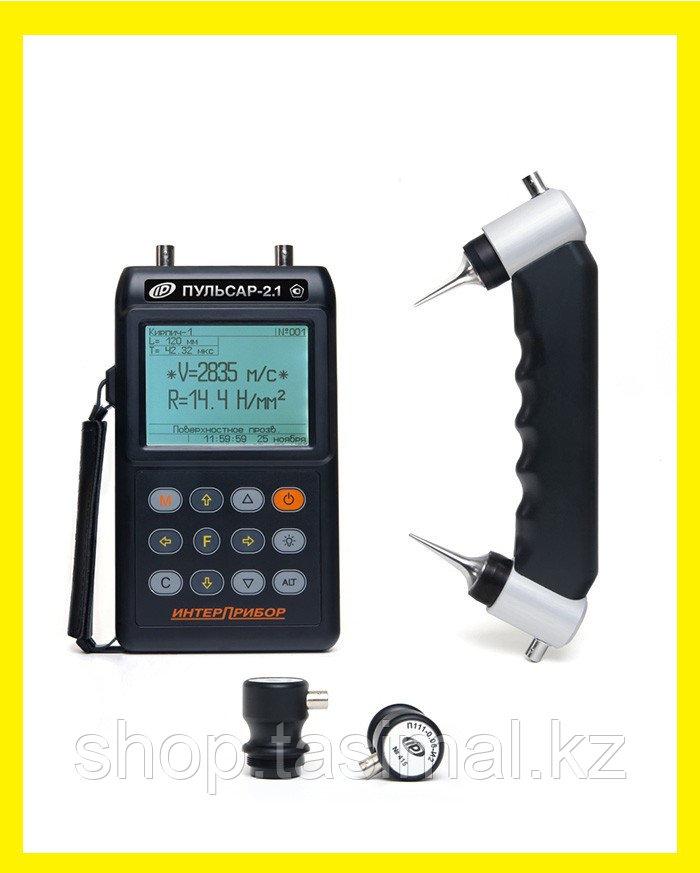 Ультразвуковой прибор для контроля прочности (дефектоскоп) ПУЛЬСАР-2.1
