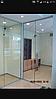 Цельностеклянные перегородки для зонирования пространства в офисе , фото 3