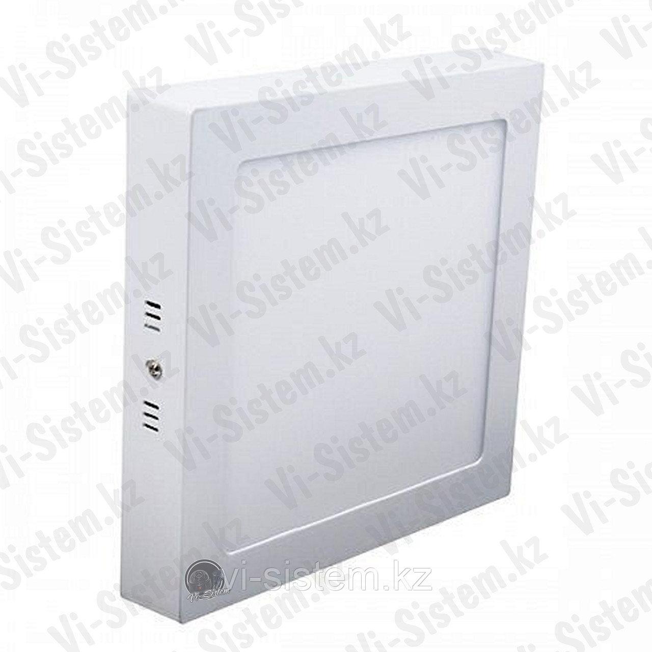 Спот светодиодный квадратный 24W 30см