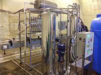 Линия розлива газ.воды и напитков ПЭТ-тару, 2000 б/час