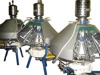 Полуавтоматическая разливочная машина XRB-16, до 800 б/час