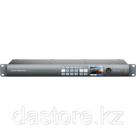 Blackmagic Design Smart Videohub CleanSwitch 12x12 матричный коммутатор, фото 2