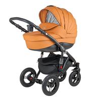Универсальная детская коляска Adamex Barletta Deluxe (экокожа)  3в1 (32S)