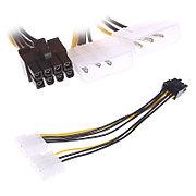 Кабель 2x Molex - 8 pin PCIE для питания видеокарты