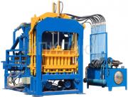 Автоматический вибропресс для производства блоков qt5-15