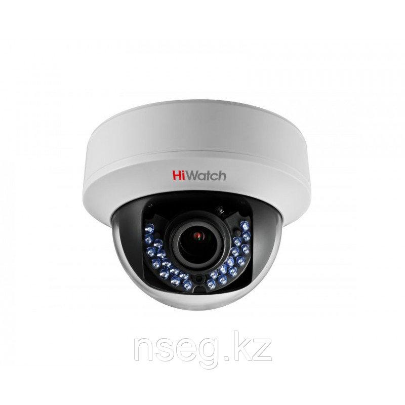 HiWatch DS-T107 1Мп уличная купольная HD-TVI камера с ИК-подсветкой до 40м
