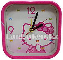 Настольные часы будильник Hello Kitty CY06A-2