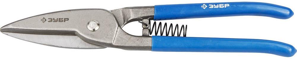 """(23012-32_z01) Ножницы ЗУБР """"ЭКСПЕРТ"""" по металлу цельнокованые, усиленные, прямые, 300мм"""