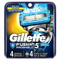 Gillette Fusion 5 PROSHIELD chill (4 кассеты) США