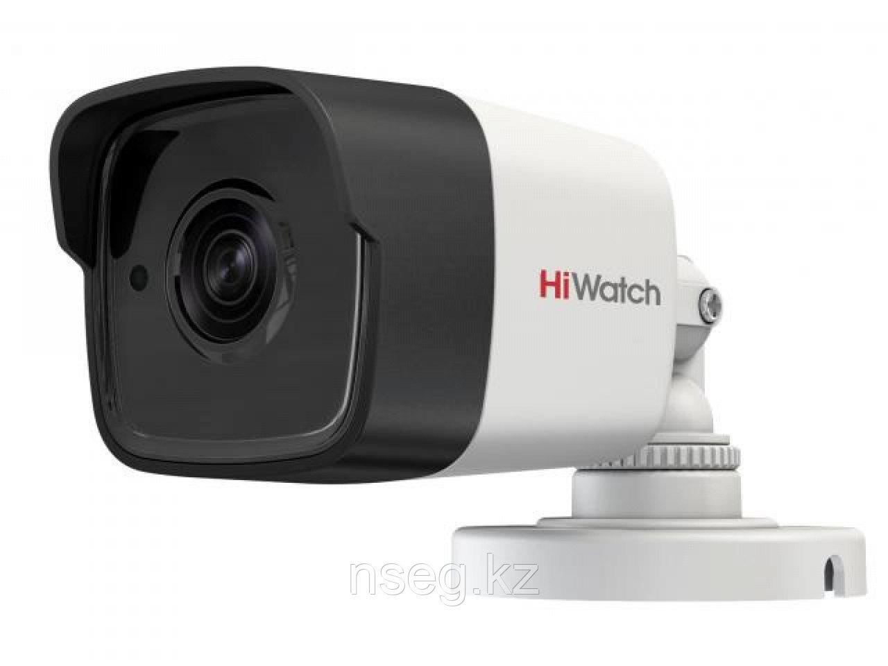 HiWatch DS-T500(3.6mm) 5Мп уличняя цилиндрическая HD-TVI камера с EXIR до 20м