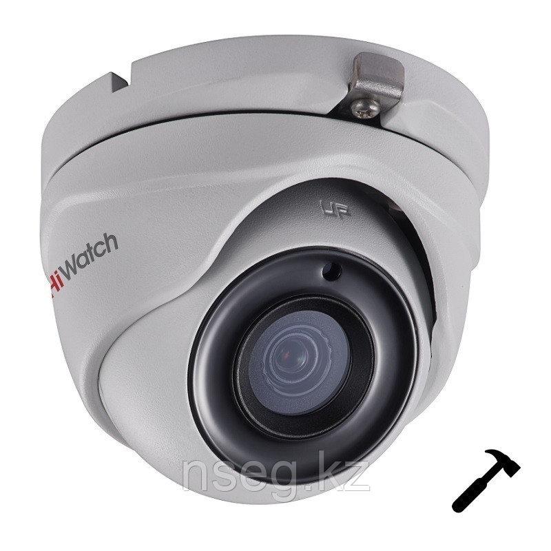 HiWatch DS-T503(3.6mm) 5Мп Внутренняя  купольная HD-TVI камера с EXIR до 20м